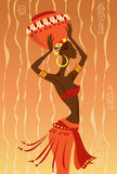 African Woman. Vector illustration of African Woman Royalty Free Stock Photography