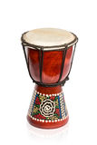African wooden drum Royalty Free Stock Image