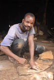 African worker Royalty Free Stock Photo