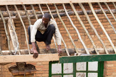 African worker Royalty Free Stock Images