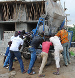 AFRICAN WORKERS QUALIFIED Royalty Free Stock Image
