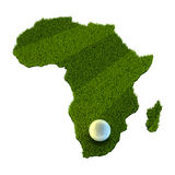 African World Cup Stock Photo