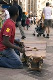 African xylophone royalty free stock photography