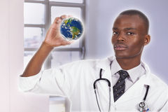 African young doctor Royalty Free Stock Images
