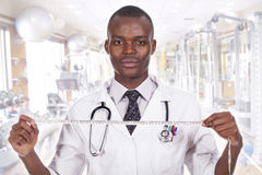 African young doctor Stock Photo