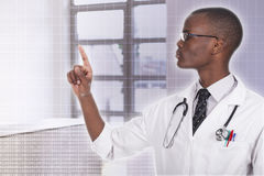 African young doctor Stock Photography