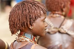 African young woman Royalty Free Stock Photos
