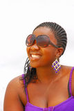 African young woman smiling Stock Photography
