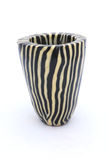 African zebra candle stock photo