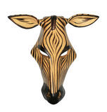 African zebra mask Royalty Free Stock Photos
