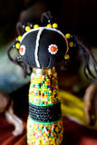African zulu doll stock image