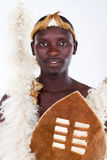 African Zulu man Stock Photo