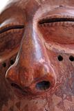 AfricanMask. African mask, from my personal collection stock image