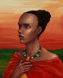 africano Imagen de archivo