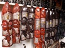 Africano Art Display Fotografie Stock Libere da Diritti