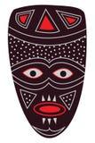 Africano de la máscara stock de ilustración