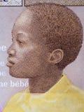 Africano de los jóvenes, un retrato