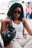 Africano do estilo de vida fotografia de stock royalty free
