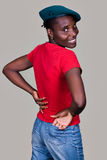 Africano ocasional Imagens de Stock