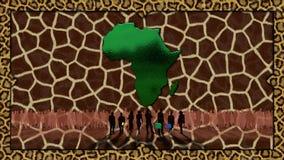 Afrika Lizenzfreies Stockfoto