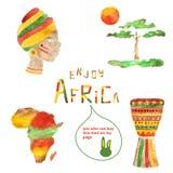 Afrika bilder Royaltyfri Fotografi
