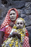 AFRIKA COMOROS ANJOUAN Arkivbild