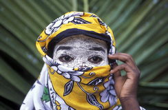 AFRIKA COMOROS ANJOUAN Arkivfoton