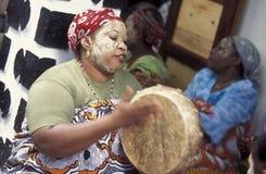 AFRIKA DE COMOREN ANJOUAN Stock Foto's