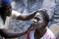 AFRIKA DE COMOREN ANJOUAN Stock Afbeeldingen