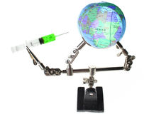 Afrika de hulp exploiteert royalty-vrije stock afbeeldingen