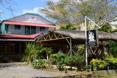 Afrika den pittoreska byn av Mont Choisy i Mauritius Royaltyfria Bilder