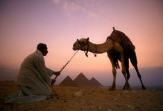 AFRIKA EGYPTE KAÏRO GIZA PIRAMIDS Stock Foto