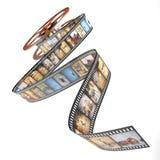 Afrika-Film Lizenzfreies Stockbild