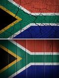 Afrika flagga Royaltyfria Bilder