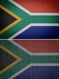Afrika flagga Royaltyfri Fotografi