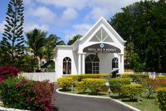 Afrika, het schilderachtige dorp van Mont Choisy in Mauritius Royalty-vrije Stock Foto