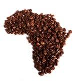 Afrika-Kaffee Stockbild