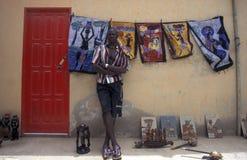 AFRIKA KAP VERDESAL arkivfoton