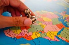 Afrika lek av schack Royaltyfri Fotografi