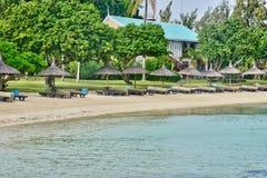 Afrika, malerischer Bereich von La Pointe Zusatz-Canonniers in Mauritiu Stockfoto