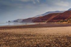Afrika Marocco, Agadir kust Royaltyfria Foton