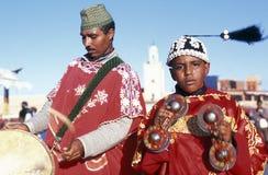 AFRIKA MAROCKO MARRAKESH Royaltyfria Bilder