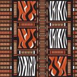 Afrika-nahtloses Muster Lizenzfreie Stockfotografie