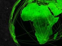 Afrika-Netz vektor abbildung