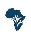 Afrika-Partnergruppen-Betriebsversicherungszusammenfassung stock abbildung