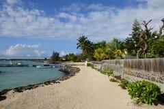Afrika pittoreskt område av Mont Choisy i Mauritius Royaltyfria Foton