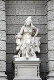 Afrika, Statuen, die Verkörperungen der Kontinente darstellen Naturhistorisches Museum, Wien lizenzfreies stockfoto