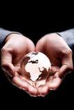 Afrika-und Europa-Kontinent Lizenzfreie Stockfotos