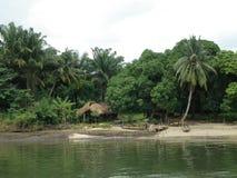Afrika-västra kust royaltyfri bild