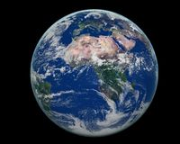 Afrika van de aarde kant Royalty-vrije Stock Foto